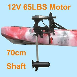 65lbs-Thrust-Kayak-Motor-Outboard-Canoe-Inflatable-Boat-Trolling-Electric-12V