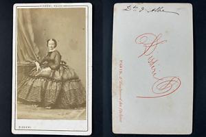 Disdéri, Paris, Duchesse d'Albe Maria Francesca de Teba Vintage cdv albumen