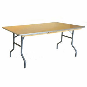 Commercial 48 Quot X 30 Quot Folding Table Lot For School Office