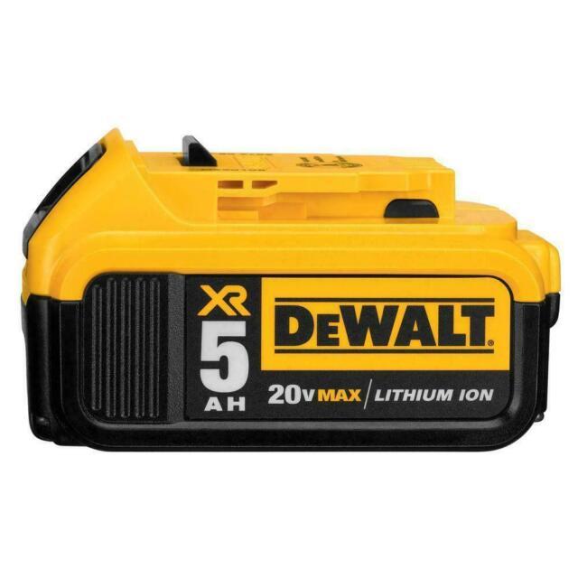 2 NEW IN RETAIL PACKAGE GENUINE Dewalt 20V DCB205-2 5.0 Batt