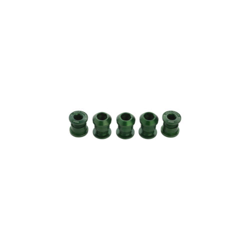 Wolf Tooth Components 1x Dual Hex Chainring Bolts 5pk Green