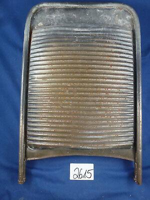 Gut Ausgebildete Nr.2615 Altes Waschbrett Zinkblech Geräte