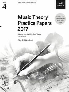 2019 Nouveau Style Abrsm Music Theory Pratique Papers 2017 Grade 4 Passé Examen Des Questions De Musique #t-afficher Le Titre D'origine