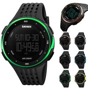 354ae9ce001b La foto se está cargando Reloj-de-pulsera-LED-SKMEI-deportivo-a-cuarzo-