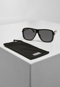 Urban Classics Sonnenbrille Sunglasses Milos Black/Black