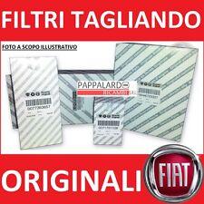 KIT TAGLIANDO 3 FILTRI ORIGINALI FIAT 500 GRANDE PUNTO PUNTO EVO ABARTH 1.4