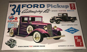 AMT-1934-Ford-Pickup-Customizing-Kit-3-in-1-1-25-scale-model-kit-new-1120