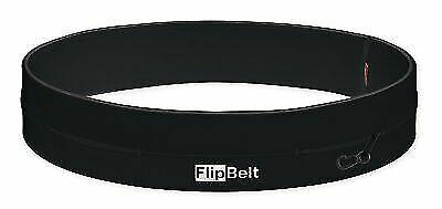 Flipbelt Classic running Belt Black multi Pocket Secure Storage Sports waist Bag