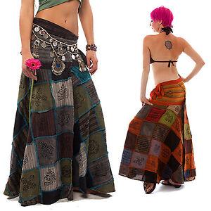 Patchwork Hippie Skirt