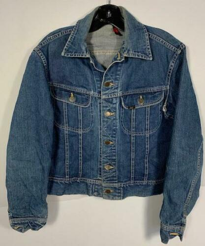 VINTAGE 40'S LEE RIDERS 101J INDIGO DENIM JACKET F