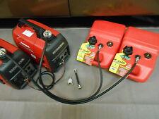 Item 6 Honda Eu2000i Generator 13 Gal Ext Run Dual Line Tank Fuel System