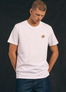 New Men's Afend's Quit Standard Fit Tee White Latest Technology T-shirts Other Men's Clothing