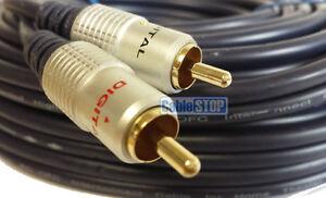 5m-PRO-2x-RCA-Twin-PHONO-Audio-Cable-24k-Gold-OFC-Lead-Male-Plug-to-Plug-5-METRE