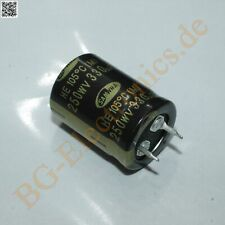 2x ELKO 250V//470µF RA10 35x25mm 105° SNAP-IN Kondensator NIPPON # 719744