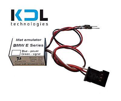 Sensibile Sensore Tappetino Occupazione Sedile Emulatore Per Bmw Serie Ue 3 E90 E91 E92 E93 Bypass-