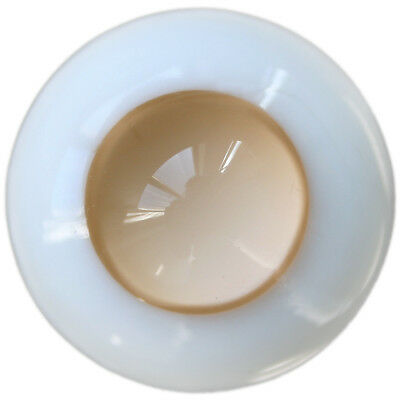 PF Ew13#8mm Gray No Pupil Eyes For BJD Doll Dollfie Glass Eye Equipment