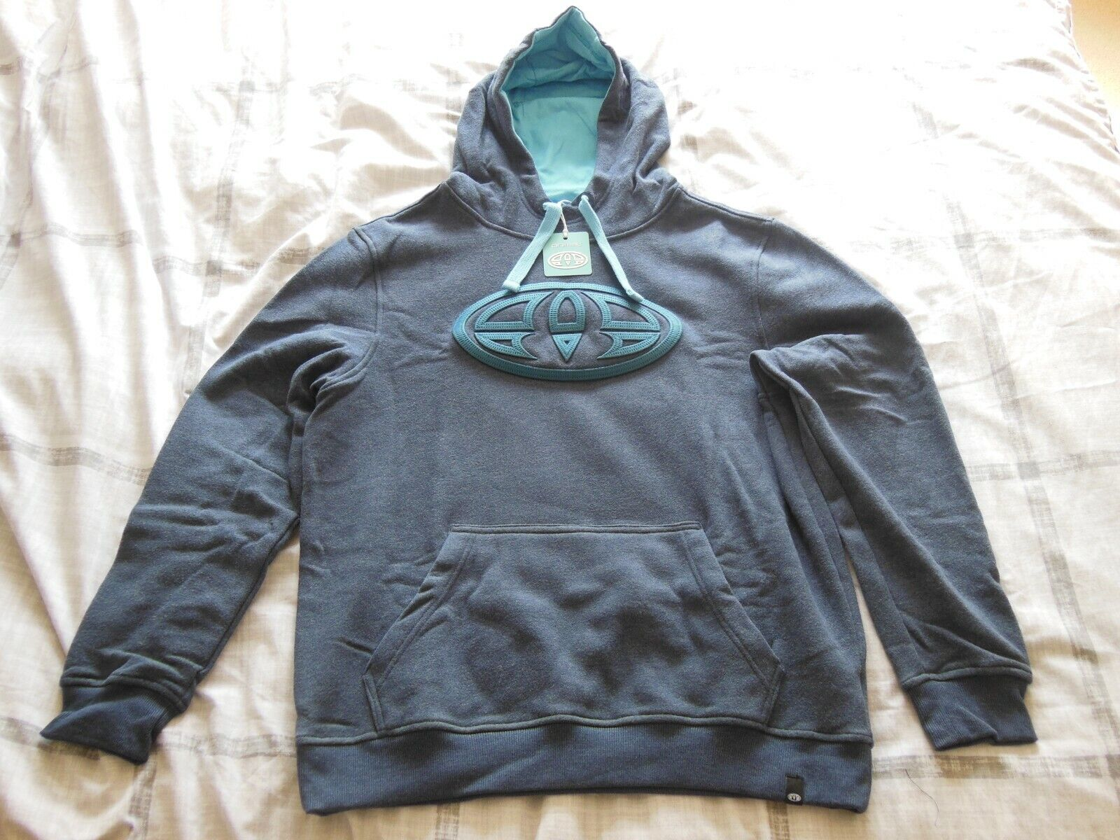Men's Animal overhead hoodie size M medium new with tags please see description