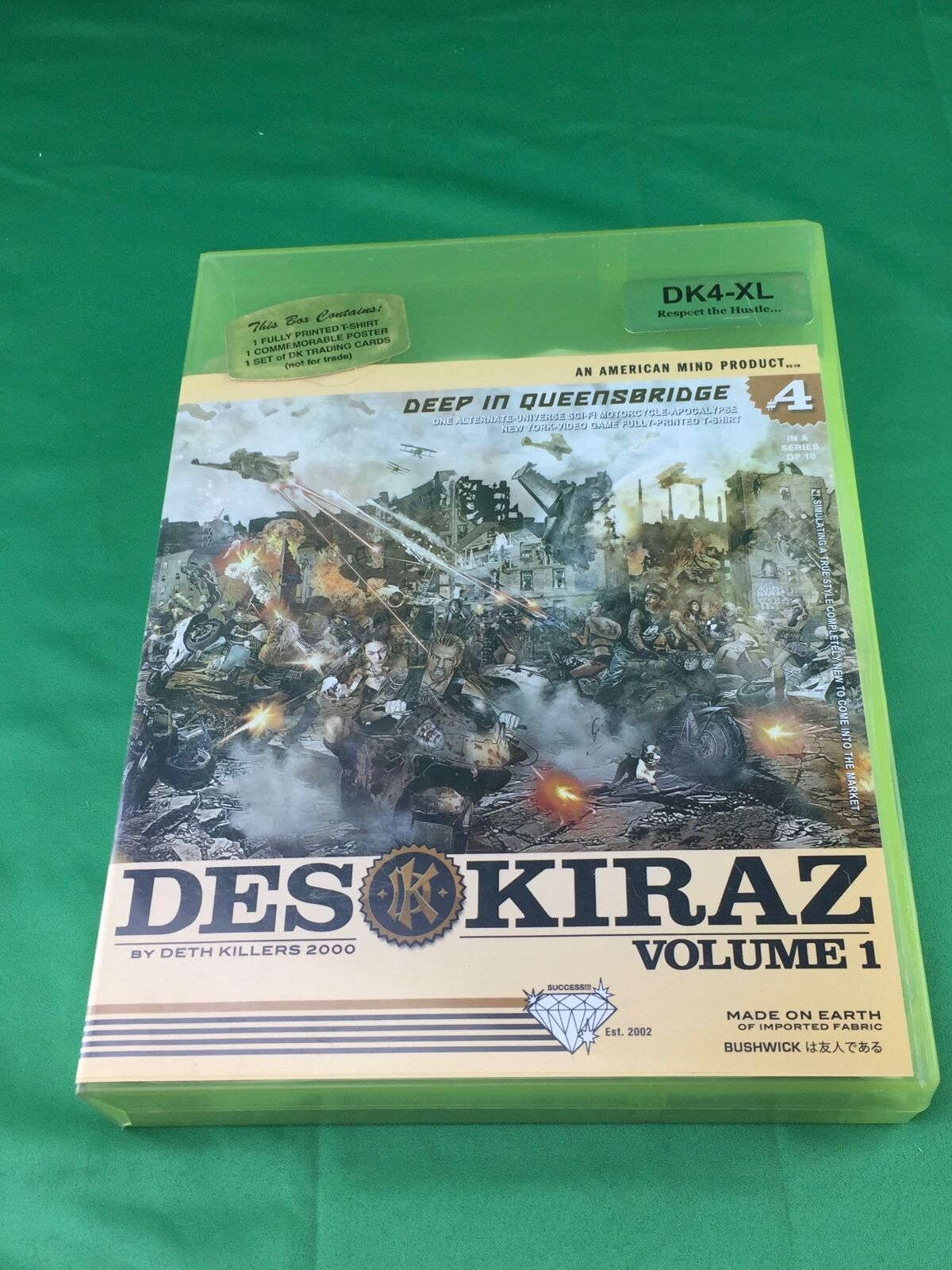 Deth Killers 2000 Volume 1  4 T-shirt XL Des Kiraz Deep In Queensbridge