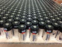 [usa] 50 Energizer 3v Cr123a Batteries For Camera, Flashlight Etc Exp. 2027