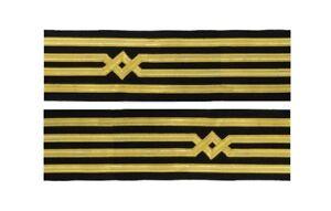 Master-Uniform-Cuff-Braid-Diamond-Gold-wire-For-Master-Chief-Captain-R1920