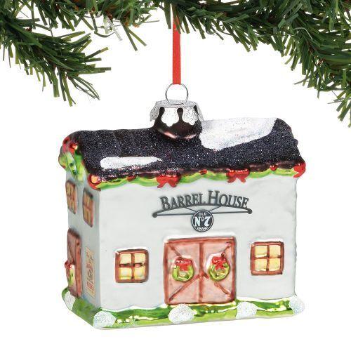 Enesco Jack Daniels Barrel House Ornament