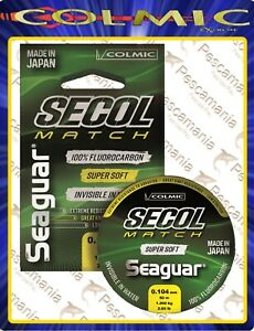 Seaguar-SECOL-MATCH-Fluorcarbon-puro-100-made-in-japan-0-10-gt-0-235mm-50mt