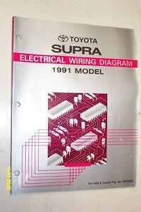 1991-TOYOTA-SUPRA-Electrical-Wiring-Diagrams-EWD-Manual
