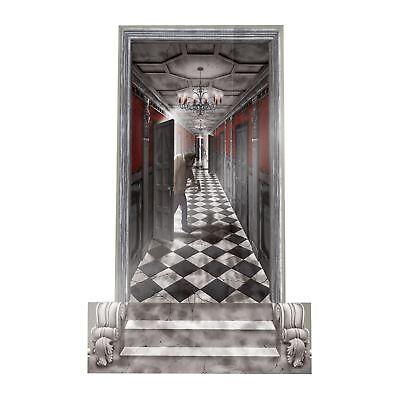 Hanté les couloirs Scène Setters 1.65 M X 85 cm Halloween Décorations de fête