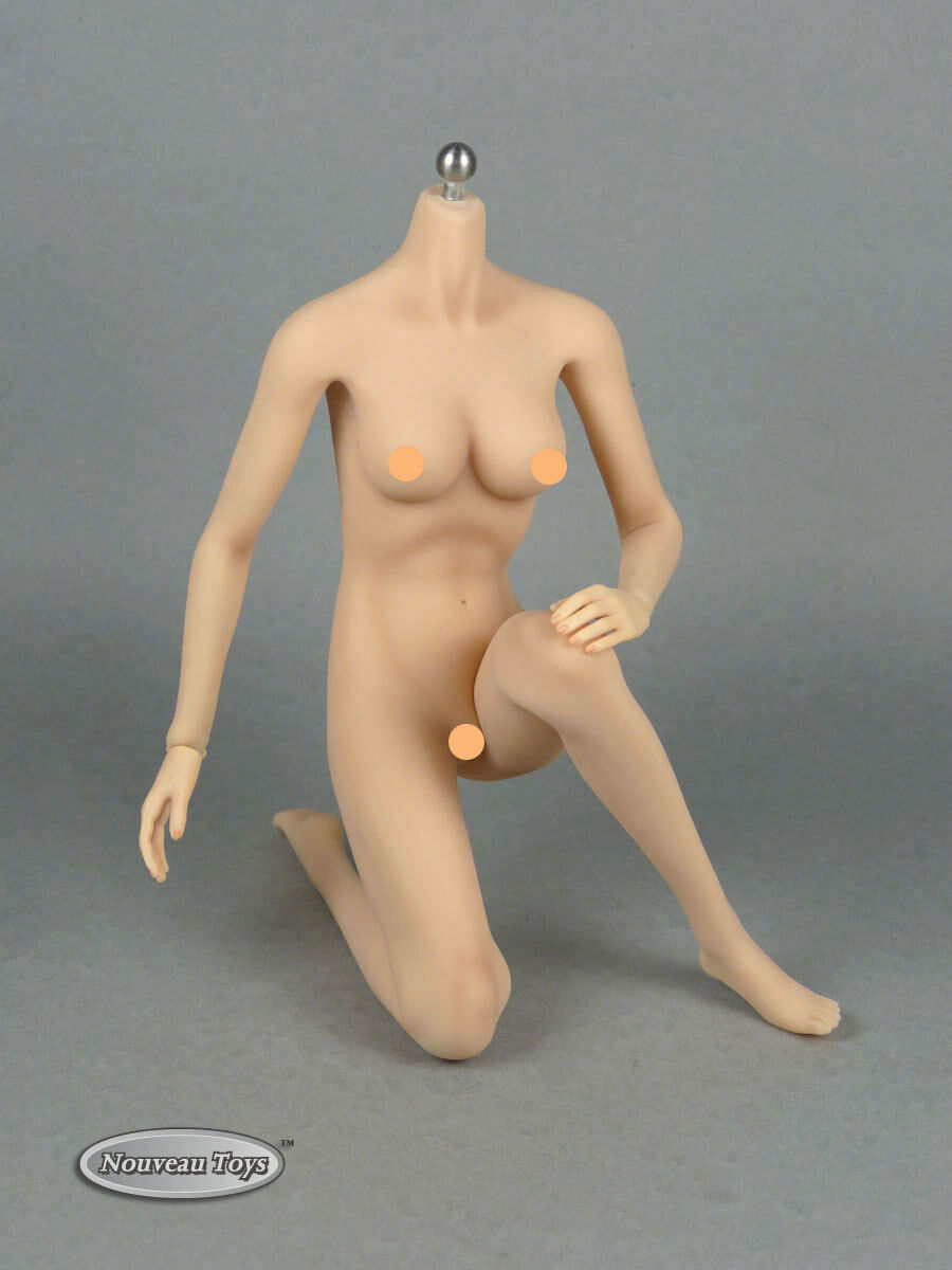 Phicen 1 6 acier inoxydable Sexy Female Body Action Figure  Pale Medium Bust S01  sports chauds