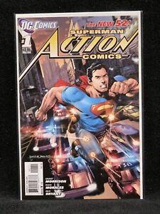 SUPERMAN/ ACTION COMICS #1/ DC COMICS/ MORRISON/ NEW 52/ Justice League
