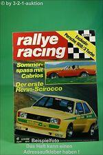 Rallye Racing 4/75 Saab 99 Scirocco Porsche 908/3 + Poster