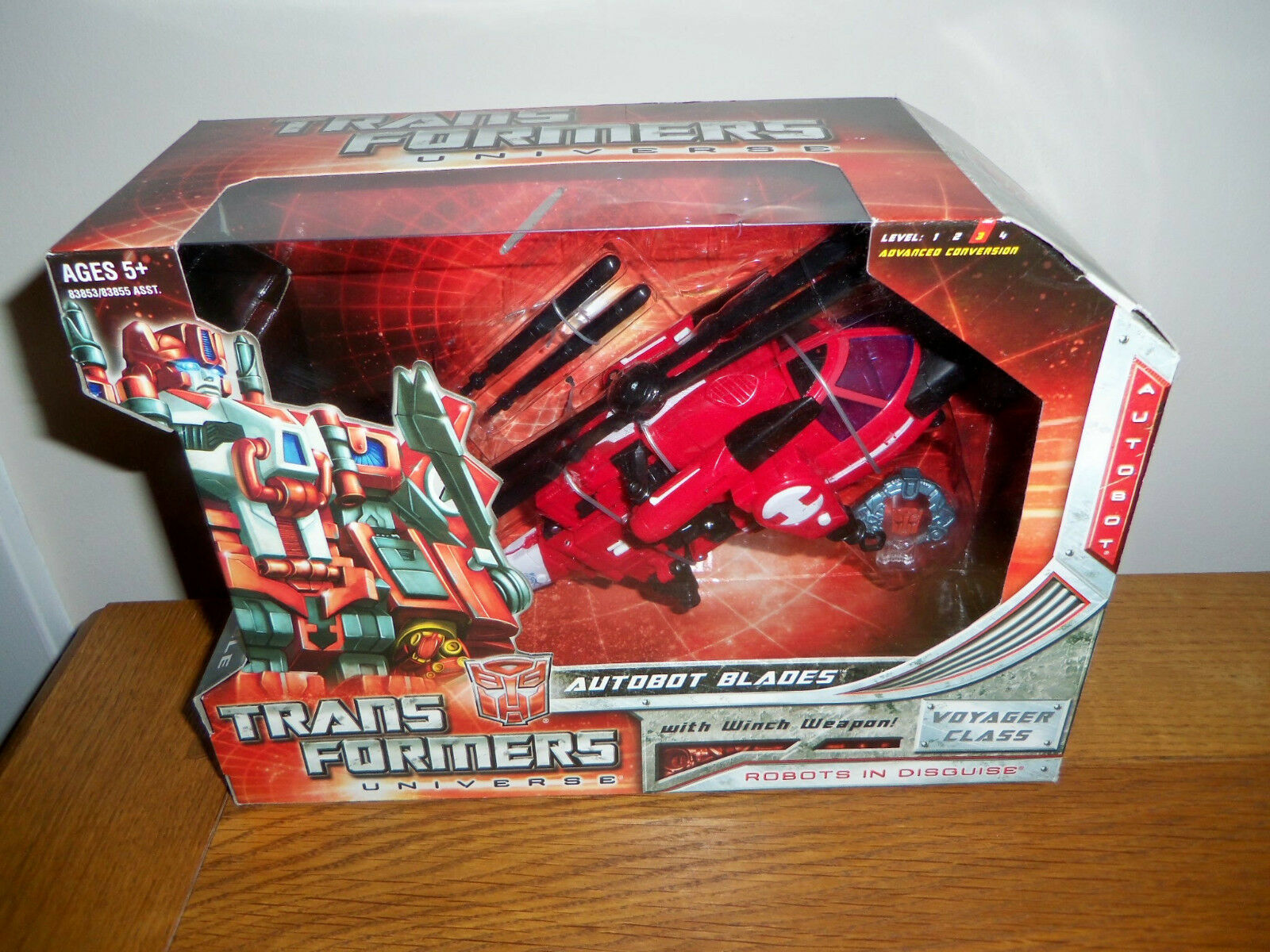 Transformers Universe AUTOBOT BLADES New Voyager Class