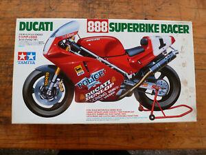 DUCATI-888-Suberbike-RACER-1-12-TAMIYA-1463-strictly-new-in-original-Box-14063