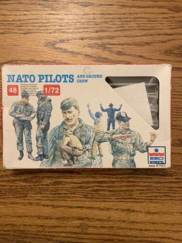 Open Box ESCI ERTL #243-1//72 scale NATO Pilots and Ground Crew