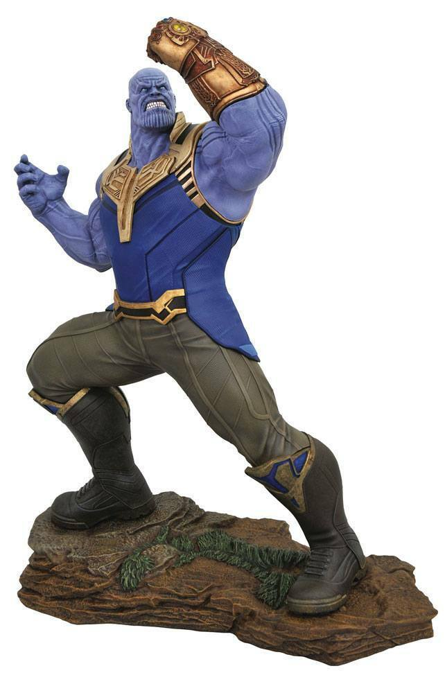 Avengers Infinity War  Marvel Movie pietre miliari Statua THANOS 51cm Diamond Select  vendita outlet online