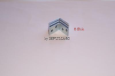 Neu***0,67€/einheit Winkel , Reperaturwinkel 6 Stck. 25x25mm Neu***