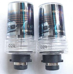 Lexus GS300 2005-1998 HID Xenon Bulbs D2R 8000K 12V 35W 2 Headlight Lamps Blue