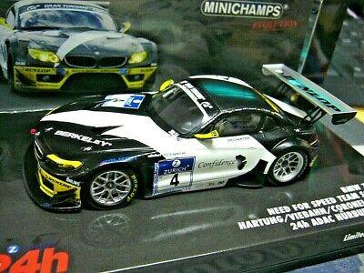 BMW Z4 GT3 24h Nürburgring 2011 #77  1:43  Minichamps neu /& OVP