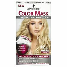 Schwarzkopf color mask colore permanente 910 Pearl BIONDA