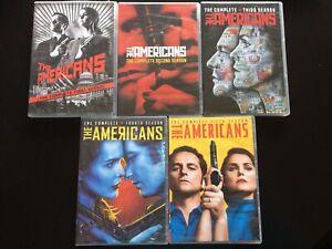 The Americans Tv Series Seasons 1 5 Dvd Set Like New Ebay