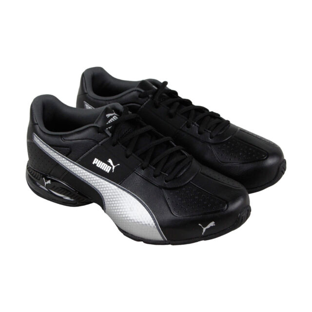 8543fa0d4f75 PUMA Cell Surin 2 FM 18987602 Black Leather Running Training Shoes ...