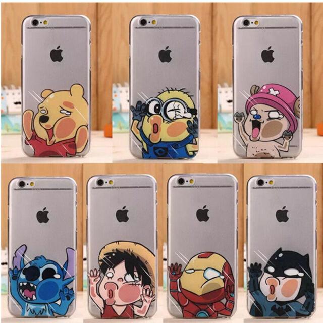 Housse Étui Pour téléphone Apple Cas Disney Cartoon Modèle Souple TPU Phone Case