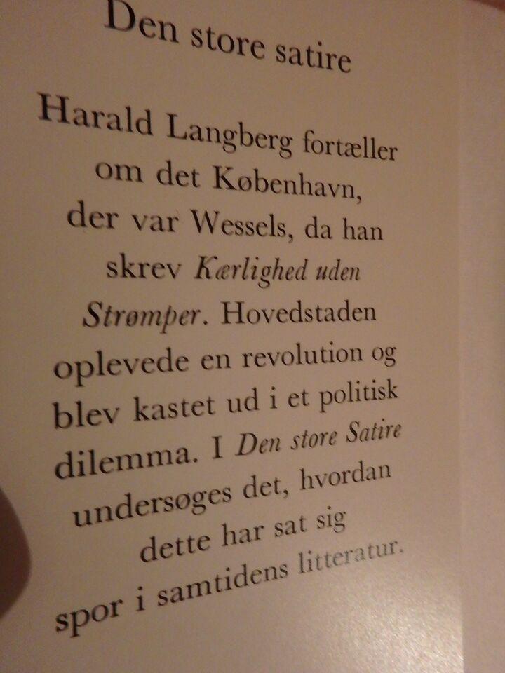 Den store satire, Harald Langberg, emne: lokalhistorie