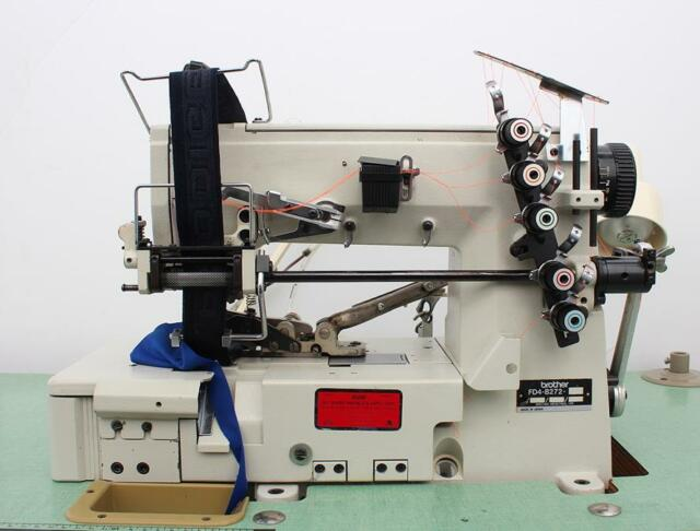BROTHER F500B F800AL INDUSTRIAL MULTIPLE AUTOMATIC TAGGING MACHINE USED
