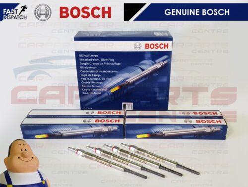 Pour Audi A3 2.0 TDI 4 Genuine Bosch Diesel Chauffage Glow Plug BOUGIES Set AZV BKD