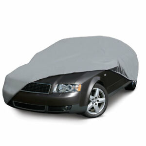 Elastic Hem Double Stitched Seams BMW 1 SERIES HATCHBACK Breathable Full Car Cover Water Resistant