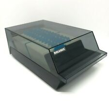 Rolodex Vip 24c Covered Business Card File Dividers Full Of Blank Cards 4 X 2