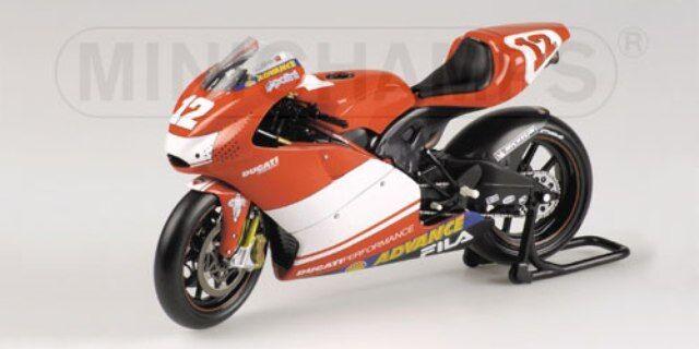 Minichamps 031300 0314 12 Ducati Modelo Bicicletas n Hodgson Troy Bayliss 2003 1 12th