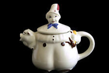 Shawnee Teapot TOM THE PIPER'S SON Pig Spout Pottery Retro Tea Pot Art Pottery