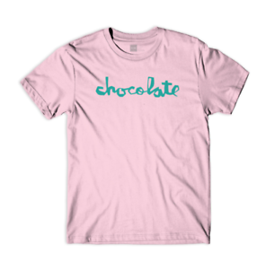 CHOCOLATE-SKATEBOARDS-CLASSIC-CHUNK-S-S-T-SHIRT-PINK